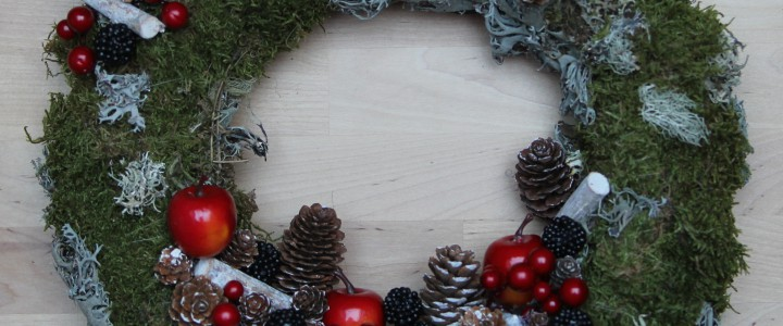 Couronne de Noël 2015