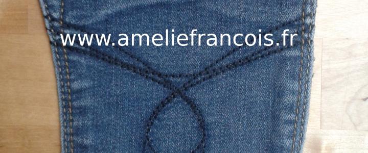 Pochette Jeans