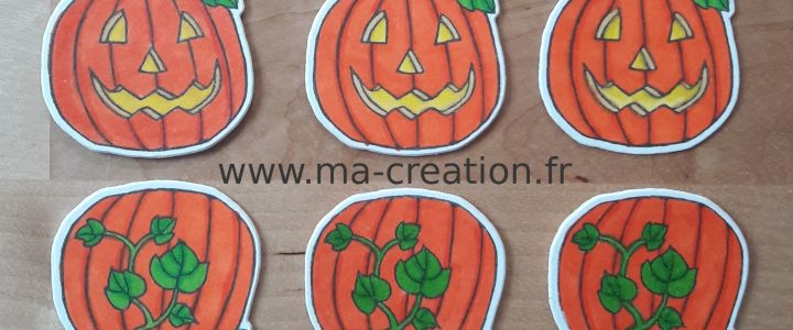 Sachets bonbons Halloween
