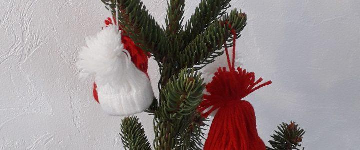 Bonnets en laine de Noël