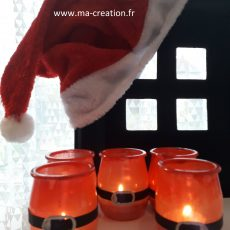 Photophore Père Noël