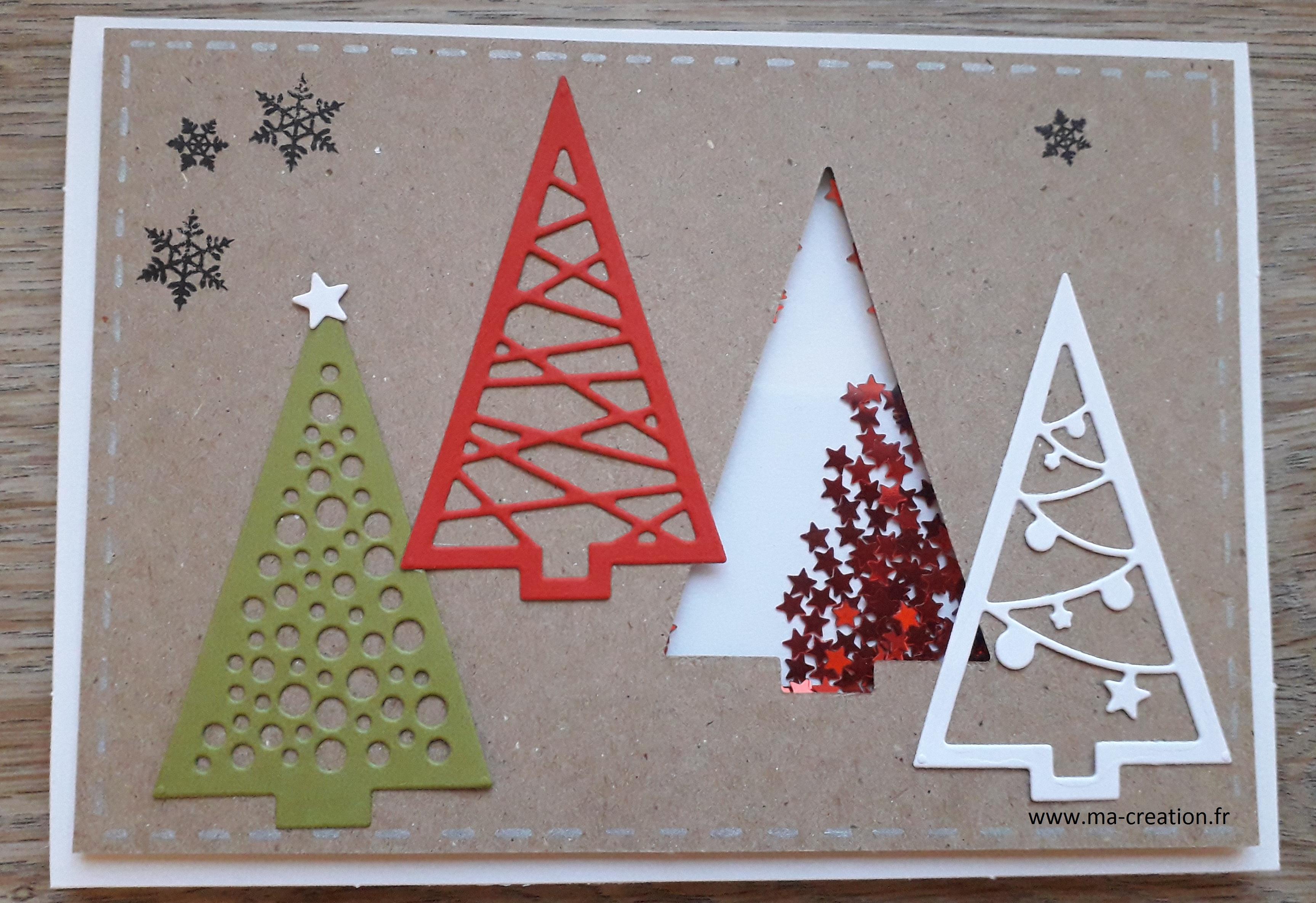 Cartes Noël – ma creation